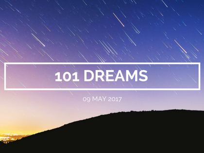 What Are Your 101 Dreams?